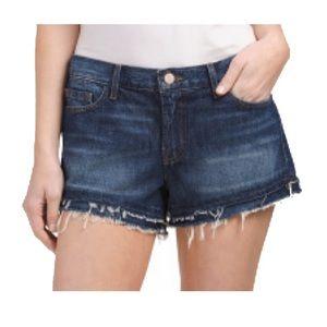 J Brand Sachi cut off denim shorts 26